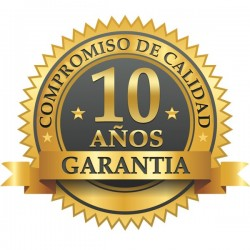 Compromiso de calidad, 10 años de garantía