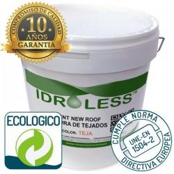 Paint New Roof Idroless ecológico con 10 años de garantía