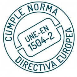 Certificado europeo UNE-EN 1504-02