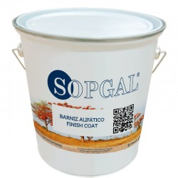 Barniz alifático de sopgal para membrana líquida de poliuretano