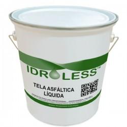 Tela asfáltica líquida de Idroless