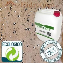 Hidrofugo ecológico Nanohidrof 9 W Oleorepelente y Antimanchas apto para madera