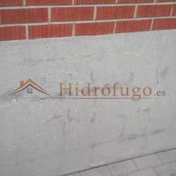 Mortero Sec Antisales Idroless después de reparación de humedades por capilaridad en paredes