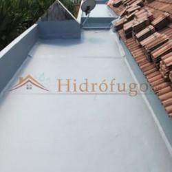 Membrana híbrida+poliuretano Sopgal para impermeabilizar tejados, cubiertas, terrazas, balcones....