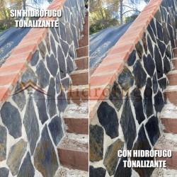 Hidrófugo Tonalizante Antimanchas de Idroless que además revitaliza y regenera las superficies tratadas.