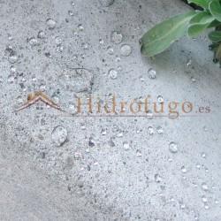 Efecto hidrófugo de Nanohidrof 9W Idroless
