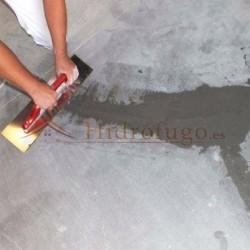 Mortero obturador de vías de agua para tapar grietas con humedad