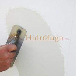 Aplicación Pintura Impermeabilizante Todoterreno Idroless frena las filtraciones de agua o humedad