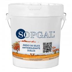 Árido de Sílice Antideslizante Sopgal, envase 25 kg