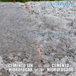 La superficie tratada con Nanohidrof Floor permanece hidrofugada por más tiempo