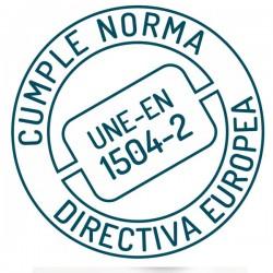 Nanohidrof 9W cumple norma UNE-EN 1504-2 directiva europea