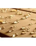 Hidrófugos repelentes de agua y aceites, u otros líquidos, en superficies de madera