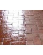 Hidrófugos para combatir las humedades que no cambian el color pero le dan un efecto brillo a las superficies tratadas