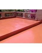 Hidrófugos con color para suelos exteriores altamente impermeabilizantes y resistentes a la climatología adversa