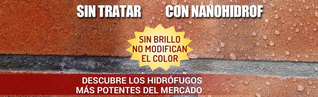 hidrófugos incoloros, hidrofugantes incoloros para paredes, tejados, terrazas y aceras.